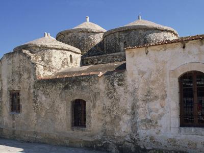Exterior of the Agia Paraskeri Christian Church, Yeroskipou, Island of Cyprus, Mediterranean-Thouvenin Guy-Photographic Print