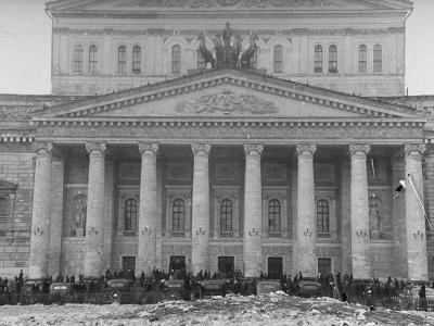 Exterior of the Bolshoi Theatre--Photographic Print