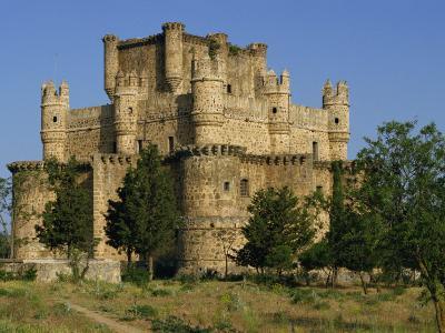 Exterior of the Castle at Guadamur, Toledo, Castile La Mancha, Spain, Europe-Michael Busselle-Photographic Print