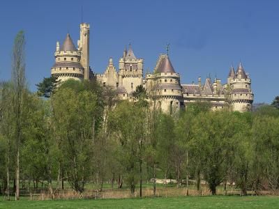 Exterior of the Chateau of Pierrefonds in Aisne, Picardie, France, Europe-Michael Busselle-Photographic Print