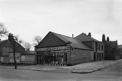 Exterior of the Dodworth Road Co-Op, Barnsley, South Yorkshire, 1957-Michael Walters-Photographic Print