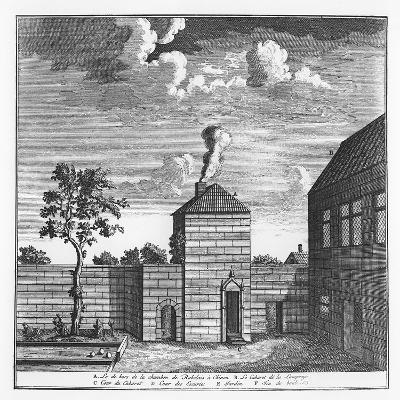 Exterior of the House of François Rabelais in Chinon--Giclee Print