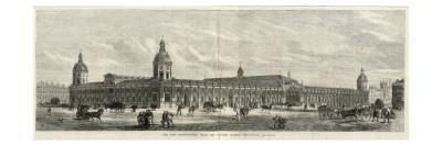 Exterior of the Smithfield New Metropolitan Meat and Poultry Market, London--Giclee Print