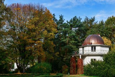 Exterior of the Torun Centre for Astronomy-Babak Tafreshi-Photographic Print