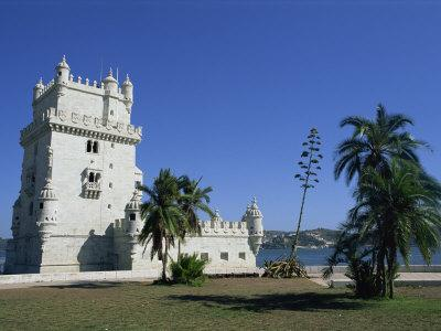 Exterior of Torre De Belem, UNESCO World Heritage Site, Belem, Lisbon, Portugal-Neale Clarke-Photographic Print