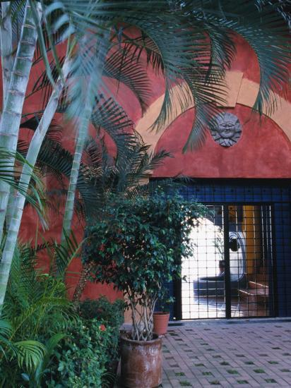 Exterior of Traditional Mexican Architecture, Puerto Vallarta, Mexico-John & Lisa Merrill-Photographic Print