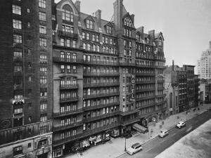 Exterior View of Chelsea Hotel in New York City