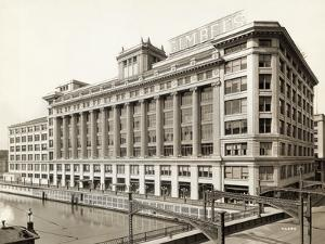 Exterior View of Gimbels Department Store
