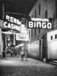 Exterior View of Horse Racing, Bingo, and Casino Buildings
