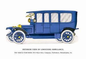 Exterior View of Limousine Ambulance