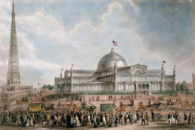 Exterior View of the New York Crystal Palace, 1853--Giclee Print