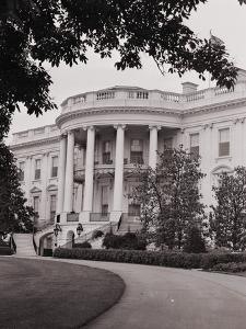 Exterior View of the White House