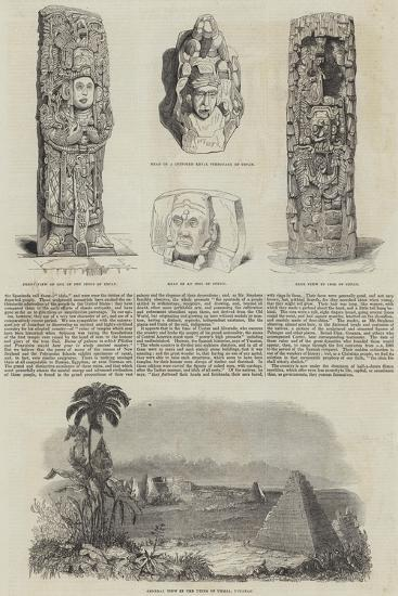 Extinct Cities of Central America--Giclee Print