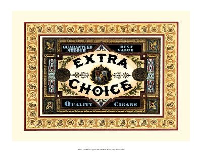 Extra Choice Cigars-Vision Studio-Art Print