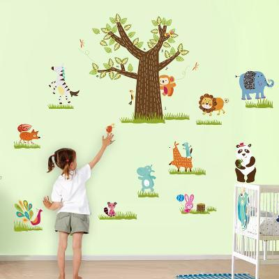 Extra Large Animals Tree--Wall Decal