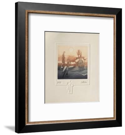 Extra-terrestres III-Antonio Andivero-Framed Limited Edition