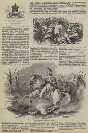 Extraordinary News by the Overland Indian Mail--Giclee Print