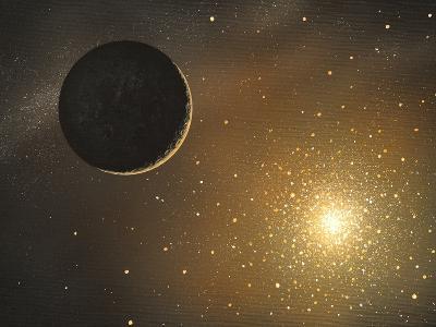 Extrasolar Planet, Artwork-Richard Bizley-Photographic Print