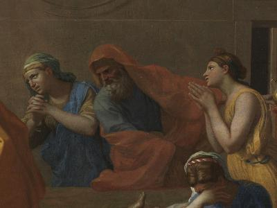 Extreme Unction, from the 'Seven Sacraments', 1638-40-Nicolas Poussin-Giclee Print
