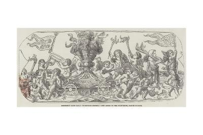 Extremely Rare Early Florentine Etching--Giclee Print
