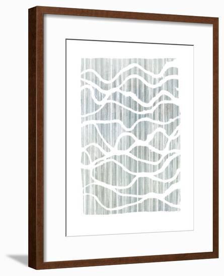 Exverse Grey-Jennifer Goldberger-Framed Art Print