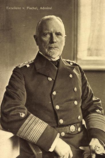 Exzellenz Admiral Max Von Fischel, Marineoffizier--Giclee Print