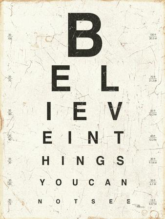 photo regarding Eye Chart Printable called Eye Chart I Artwork Print as a result of Jess Aiken