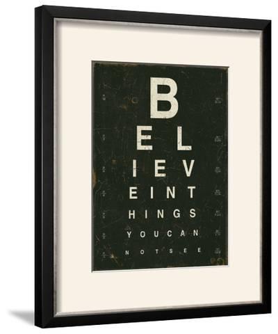Eye Chart III-Jess Aiken-Framed Photographic Print