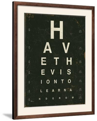 Eye Chart IV-Jess Aiken-Framed Photographic Print
