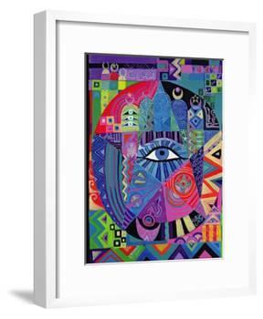Eye of Destiny, 1992-Laila Shawa-Framed Giclee Print