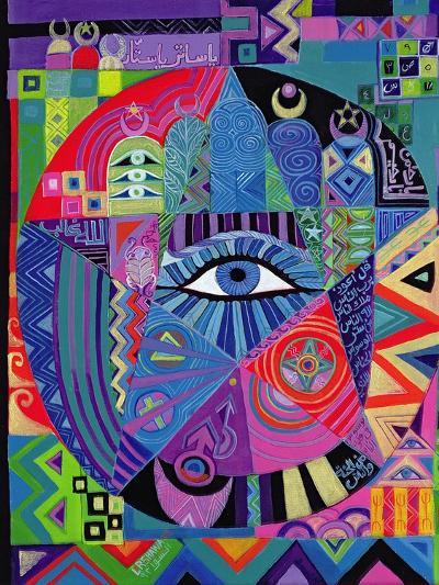 Eye of Destiny, 1992-Laila Shawa-Giclee Print