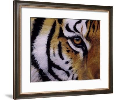 Eye of the Tiger-Lucie Bilodeau-Framed Art Print