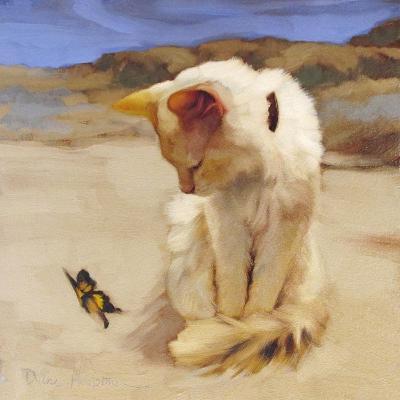 Eye on Butterfly V-Diane Hoeptner-Art Print