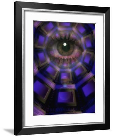 Eye on World Wide Web-Carol & Mike Werner-Framed Photographic Print