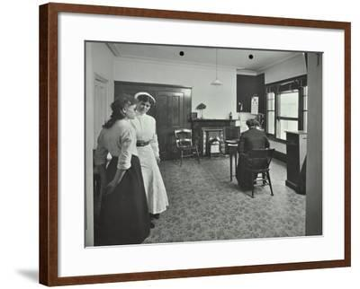 Eye Room, Fulham School Treatment Centre, London, 1914--Framed Photographic Print