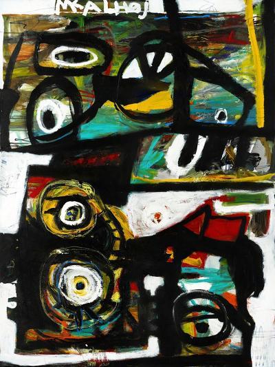 Eye Study-Martin Kalhoej-Art Print