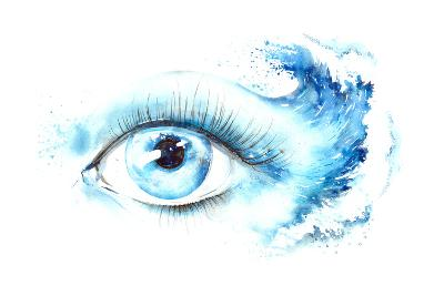 Eye-okalinichenko-Art Print