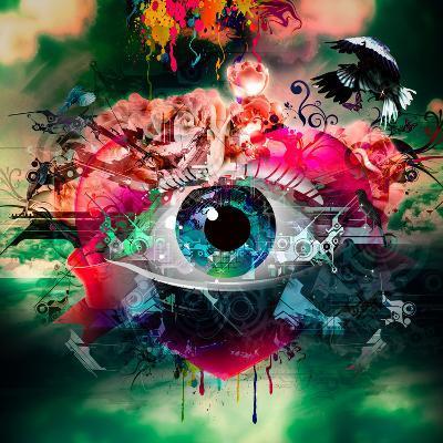 Eye-reznik_val-Art Print