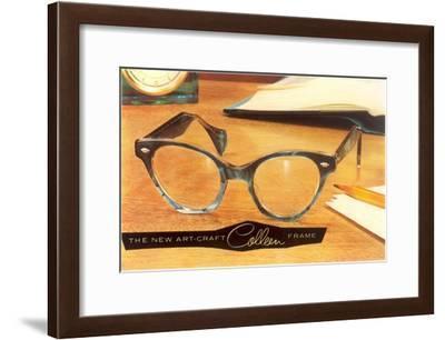 Eyeglass Frames--Framed Art Print