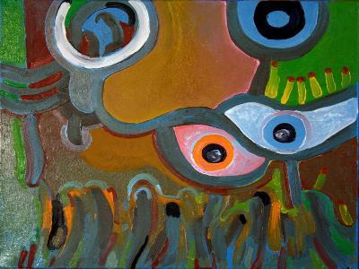 Eyes Do Not Believe What They See, 2009-Jan Groneberg-Giclee Print