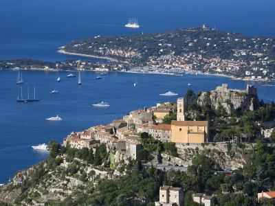 Eze, French Riviera, Cote D'Azur, France-Doug Pearson-Photographic Print