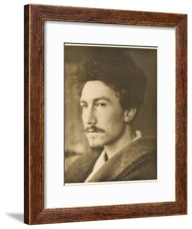 Ezra Pound American Writer--Framed Photographic Print