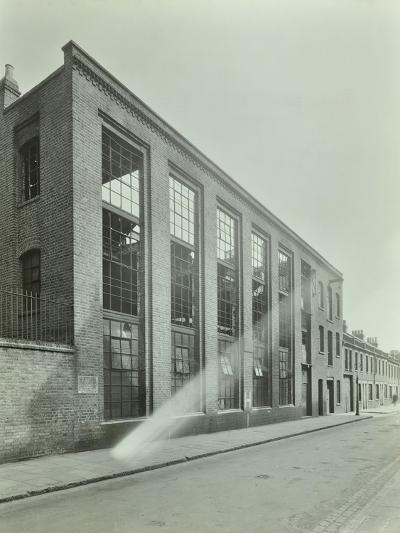 Ezra Street, Bethnal Green, Looking East, by Raven Works, 1944--Photographic Print