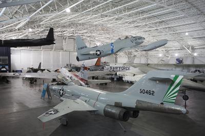 F-101 Voodoo Fighter and T-33 Trainer, Ashland, Nebraska, USA-Walter Bibikow-Photographic Print
