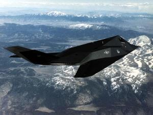 F-117A Nighthawk First Operational Aircraft Designed with Stealth Technology, 1983