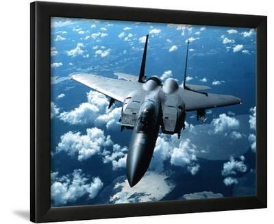 F-15 E Strike Eagle United States Air Force--Framed Photographic Print