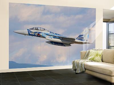 F-15Dj Eagle of the Japan Air Self-Defense Force-Stocktrek Images-Wall Mural – Large