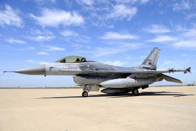 F-16A Falcon from the Portuguese Air Force at Moron Air Base, Spain-Stocktrek Images-Photographic Print