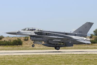 F-16D Falcon from the Republic of Singapore Air Force Landing-Stocktrek Images-Photographic Print