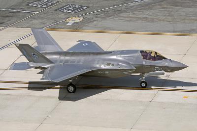 F-35B on the Flight Line Nellis Air Force Base, Nevada-Stocktrek Images-Photographic Print